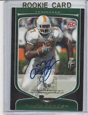 ARIAN FOSTER 2009 BOWMAN DRAFT EDITION TENNESSEE VOLS TEXANS ON CARD AUTO RC 183