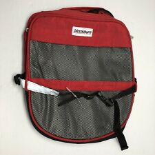Blackburn Bicycle Bike Single Saddle Bag Internal Metal Frame And Pocket Red