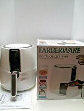 Faberware 3.2qt Digital Oil-less Fryer, White