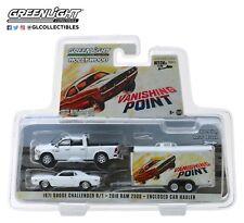 GreenLight 1/64 Vanishing Point 2018 Dodge Ram 2500 1970 Challenger R/T 31070-B