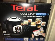 Tefal Cook4Me Connect Multi-Cooker with Interactive Control Panel, Connected Cap