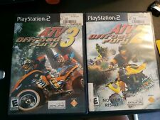 ATV Offroad Fury 2 & 3 Sony PlayStation 2, 2002 ps2  COMPLETE Very Good STICKERS