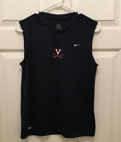 New Virginia Cavaliers Women's Soccer Team Issued Nike Sleeveless T-Shirt Medium