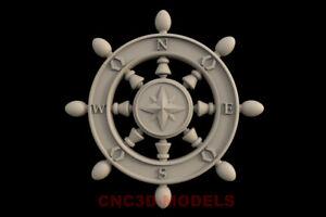 3D Model for CNC Router STL File Artcam Aspire Vcarve Wood Carving.IS427