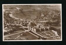 Berkshire WINDSOR Castle From the Air c1920/40s? RP PPC by Valentine
