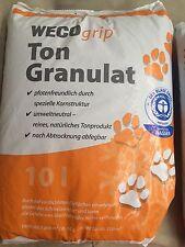 40 LITER WECO GRIP Ton Granulat Katzenstreu Pflanzgranulat Schneegranulat