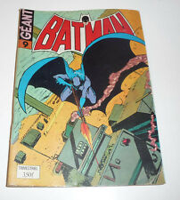 SAGEDITION   Batman Géant Série 1     de 1974    N° 9