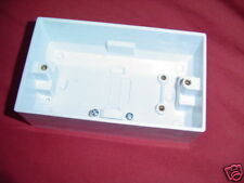 MOULDED COOKER BOX 47mm DEEP SURFACE TYPE( back box) double box
