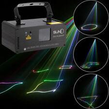 SUNY Stage Lighting Beam DMX 512 RGB Laser Red Green Blue DJ Light Full Color