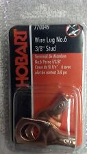 Welder Wire Lug For 6 Wire 38 Mounting Hole Hobart Part 770049