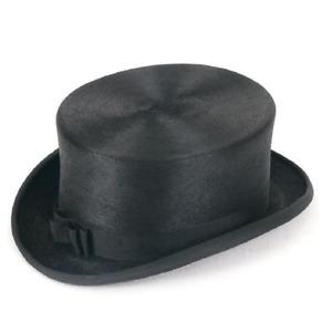 Christys' Dressage Hat Melusine Fur Felt - Riding Top Hat in Black Navy or Brown