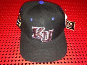 Vintage Kansas Jayhawks Zephyr Fitted Hat size 7 1/4 NWT