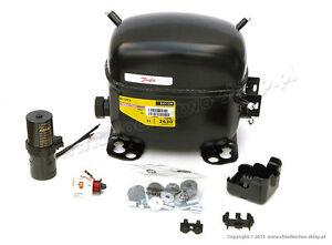 230V compressor Danfoss SC10DL 104L2525 195B0075 made by Secop, R404A R407C R507