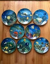 Coral Paradise Hamilton Collection Underwater 8 Plate Set by Higgins Bond