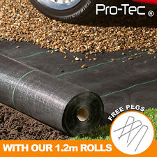 More details for heavy duty weed control fabric ground cover membrane sheet garden landscape mat