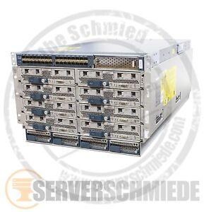 Cisco Blade Center E5-2640 96 Cores 768GB RAM UCS 5108 8x UCS B200 M3 vmware