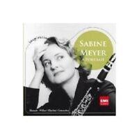 SABINE MEYER - SABINE MEYER-A PORTRAIT MOZART & WEBER  CD 9 TRACKS NEW!