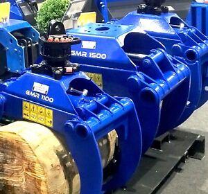 Robustrack LOG GRAB GMR 1050 for 1.8–2.5 Ton Excavators, Forestry Loaders ...