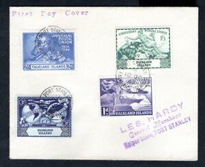 Falkland Islands - KGVI 1949 UPU First Day Cover