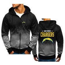 San Diego Chargers Fans Hoodie Autumn Fashion Sweatshirt Jacket Coat Tops Gift