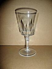 verre a vin ROUGE 15 cl , cristal d'arques , modèle : VERSAILLES choix quantité