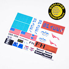 for MOC building Custom sticker for LEGO 3438 Haagen-Dazs Premium quality