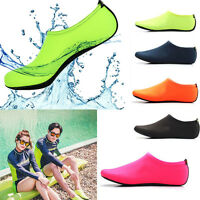 Women Men Skin Water Shoes Aqua Beach Socks Yoga Exercise Pool Swim Slip Surf N9