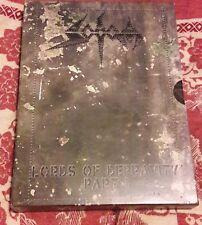 sodom dvd 1 press!!! like new destruction mayhem 1burzum hellammer