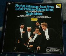 HUBERMAN FESTIVAL 1982 ZUKERMAN STERN PERLMAN MINTZ MEHTA 1983 2LP DG 2741 026