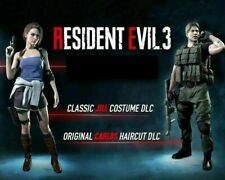 Resident Evil 3 Remake PS4 Classic Costume Pack DLC CODE ONLY!! NO GAME!!