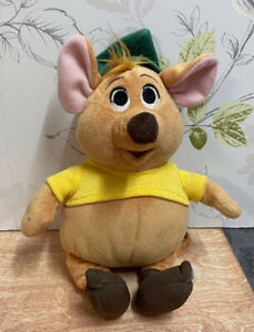 "Disneyland Paris Gus Brown Mouse From Cinderella Plush Soft Toy 9"""