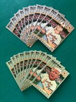 Lot of (20) 1989 Fleer DONALD TRUMP & BILL RIPKEN Error FU@K Face REPRINT Cards