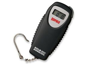 Rapala 50lb Mini Digital Fishing Scale - Weigh Fish Accurately - NEW!