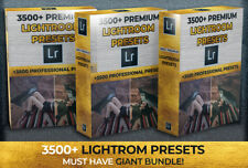 3500+ PREMIUM Photo Presets for Adobe Lightroom (Fast Email Deivery)