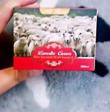 Mt. Rosa Lanolin Cream Rose Essential Oil + Vitamin E 100ml *3