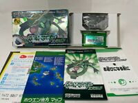 BOXED NINTENDO Pokemon Emerald Game Boy Advance GBA Manual & Map  Japan