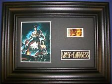 ARMY OF DARKNESS Framed Movie Film Cell Memorabilia Compliments poster dvd vhs