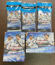 🔥2020 TOPPS CHROME BASEBALL 2x BLASTER BOX AND 3x CELLO PACK BUNDLE🔥