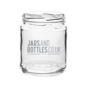 12oz Panelled Food Jam Jars perfect for pickles, chutnes & preserves (inc caps)