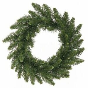 """2-Pack of  Camdon Unlit Fir Wreaths, 16""""~Christmas Holiday Decoration"""