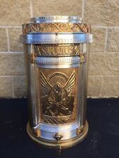 + Older Round Tabernacle + Two Tone Finish + Church Safe + (CU78) + chalice co.