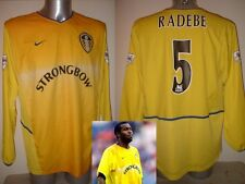 Leeds United LUCAS RADEBE Shirt Jersey Football Soccer Adult Large Nike L/S Away