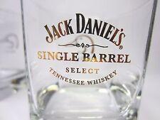 JACK DANIEL'S 2011 Single Barrel Select Low Ball Glasses Set of 2 Gold Label