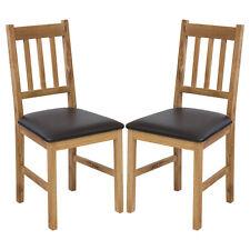 2 X Stuhl LUCCA Eiche Massiv Esszimmerstuhl Küchenstuhl