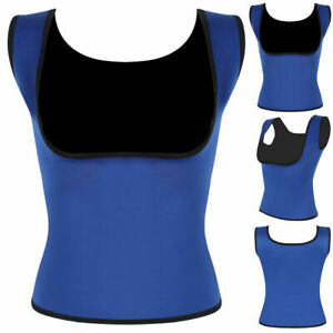 Women's Body Hot Slimming Redu Vest Shirt Underbust Corset Sauna Shaper Cami Top