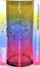 McDonalds Coca Cola Regenbogen Glas limited Edition 2019 Glas neu Coca-Cola OVP