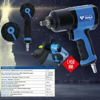 """Brilliant Tools 1/2"""" Llave de Impacto de Aire Comprimido, 1450 NM BT160100"""