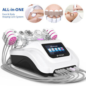 S-SHAPE Ultrasound Cavitation Vacuum Suction&RF LED Laser Body Slimming Machine