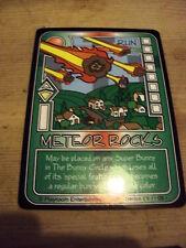 RARE ORIGINAL KILLER BUNNIES GAME PROMO CARD PSI SERIES 8 METEOR ROCKS