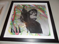 Mr Brainwash - Original - 1/1 - Banksy - Mixed Media 2010 With MBW COA